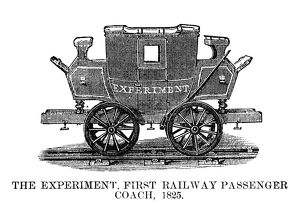 RAILROAD: PASSENGER CAR. The 'Experiment