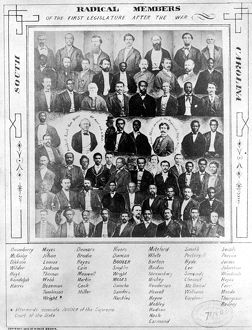 african american history/reconstruction 1876 radical members first south