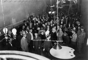 RENO: CASINO, 1910. A crowded casino in Reno, on one the last days of legal gambling