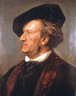 portraits/richard wagner 1813 1883 german composer
