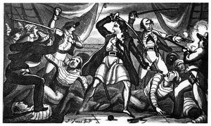 RICHARD WORLEY (c1686-1719). English pirate