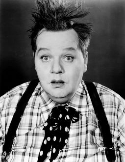 ROSCOE 'FATTY' ARBUCKLE (1887-1933). American cinema actor.
