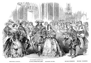 british monarchy/royal costume ball 1851 queen victoria prince