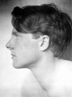 RUPERT BROOKE (1887-1915). English poet. Photographed in 1913 by Sherril Schell.