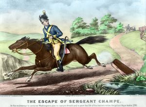 Sergeant Major in the Continental Army. 'The Escape of Sergeant Champe'