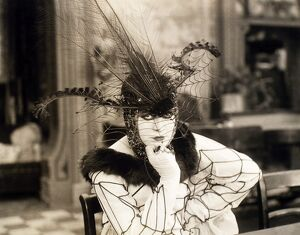 SILENT FILM STILL, 1917. Valeska Suratt in 'The New York Peacock,' 1917.