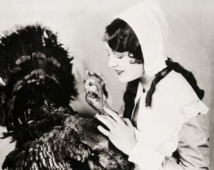 SILENT FILM STILL. Billie Dove.