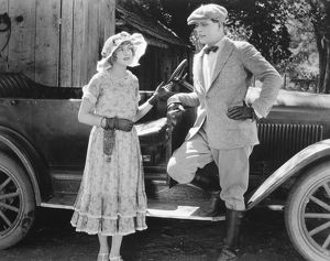 SILENT FILM STILL: COUPLES.