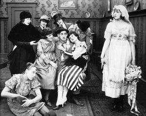 SILENT FILM STILL: WEDDING.