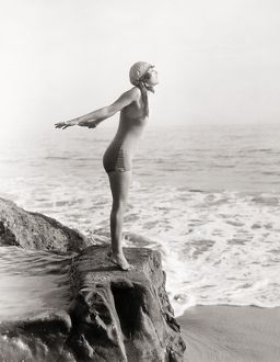 SILENT STILL: BATHER.