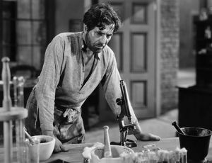 SILENT STILL: LABORATORIES. Warner Baxter as Dr. Samuel Mudd, 'The Prisoner of Shark Island
