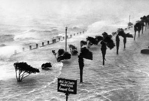 SOUTH CAROLINA: HURRICANE. A hurricane on the coast of Charleston, South Carolina