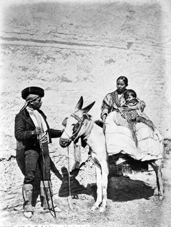 anthropology/spain gypsies c1860 80 gypsy family spain