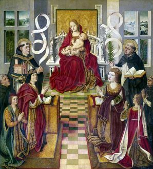 SPAIN: KING & QUEEN, 1490. The Madonna of Catholic Kings