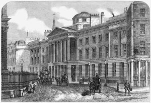 ST. PAUL'S SCHOOL, 1862. St. Paul's School at the east end of St