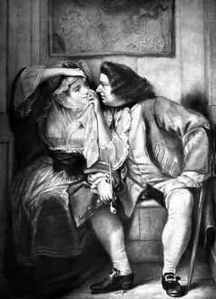 STERNE: TRISTRAM SHANDY. Uncle Toby and the Widow Wadman