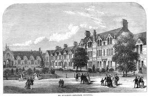 STOCKWELL: ORPHANAGE, 1869. Orphanage established by Charles Haddon Spurgeon in Stockwell