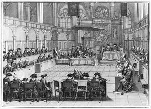 SYNOD, 1730. 'Synod kept in the choir of the new church at Amsterdam in 1730