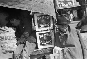 whats new/texas potato vendor 1939 potato peddler resting