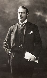 THOMAS ANDREWS (1873-1912). Irish businessman and builder of the 'Titanic.' Photograph