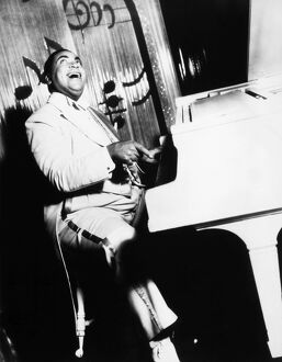 THOMAS 'FATS' WALLER (1904-1943). American musician and composer.