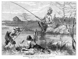 sports/trout fishing 1877 nature versus art hey mister