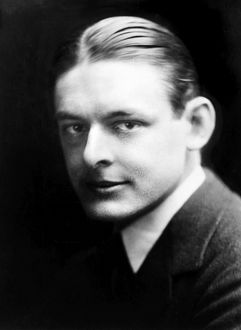 T.S. ELIOT (1888-1965). Thomas Stearns Eliot. American (naturalized British) poet and critic. Photograph, c1920.