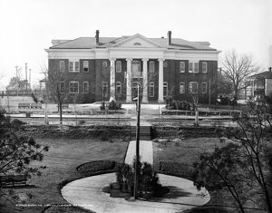 TUSKEGEE INSTITUTE, c1906. The Carnegie Library at the Tuskegee Institute in Alabama