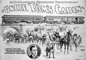 african american history/uncle toms cabin 1898 1898 poster theatrical