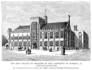 UNIVERSITY OF DURHAM, 1887. The College of Medicine of the University of Durham