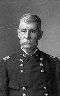 U.S. GENERAL, c1900. A general with the United States Volunteers. Photograph, c1900