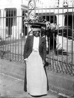 african american history/vegetable vendor c1900 new orleans woman vendor