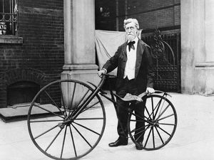 VELOCIPEDE, 1914. George C. Maynard, curator of technology at the United States National