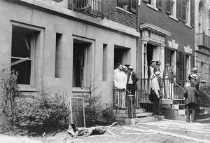 us cities/washington dc bombing exterior u