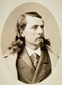 WILLIAM F. CODY (1846-1917). 'Buffalo Bill.' American scout and showman. Photograph