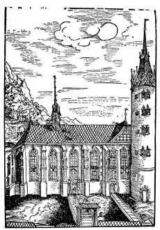 world geography/wittenberg germany 1509 castle church schlosskirche