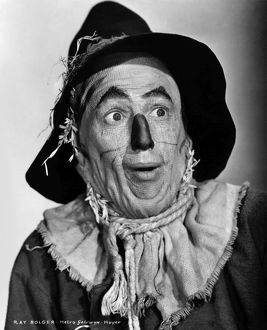 WIZARD OF OZ, 1939. Ray Bolger as the Scarecrow in the 1939 MGM production of 'The Wizard of Oz