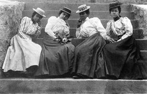 african american history/women 19th century late 19th century photograph