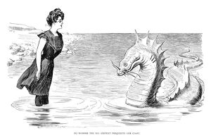 'No Wonder the sea serpent frequents our coast.'
