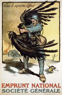 WORLD WAR I: FRENCH POSTER. 'For the Greatest Effort