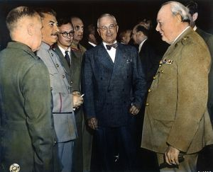 WWII: POTSDAM CONFERENCE