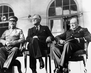 WWII: TEHRAN CONFERENCE