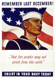 whats new b/wwii us navy poster 1942 world war ii recruitment