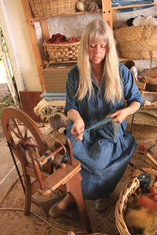 Dyeing and Spinning