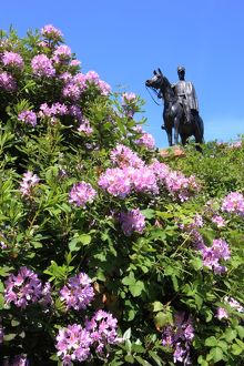 Statue of 1st Duke of Wellington at Round Hill Aldershot