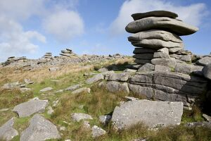 Windswept stones on Bodmin Moor