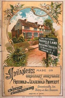 1900s UK mortgages building societies estate agents property finance new homes suburbia
