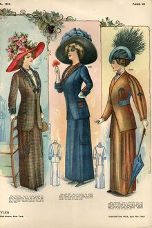 1910 1900s USA womens hats