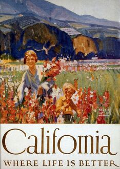 1920s USA california holidays tourism Warning - small image size