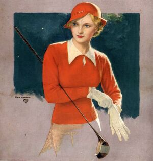 1930s USA golf womens